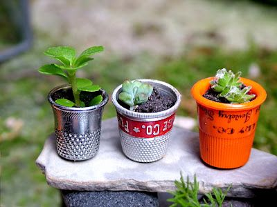 Think Crafts by CreateForLess » Blog Archive Tiny Fairy Garden » Think Crafts by…