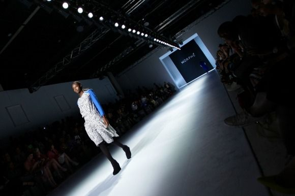 Morphe's collection at Mercedes-Benz Fashion Week Joburg 2014. Image by SDR Photo #MBFWJ