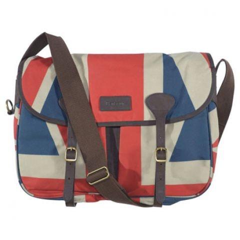 Barbour union jack bag