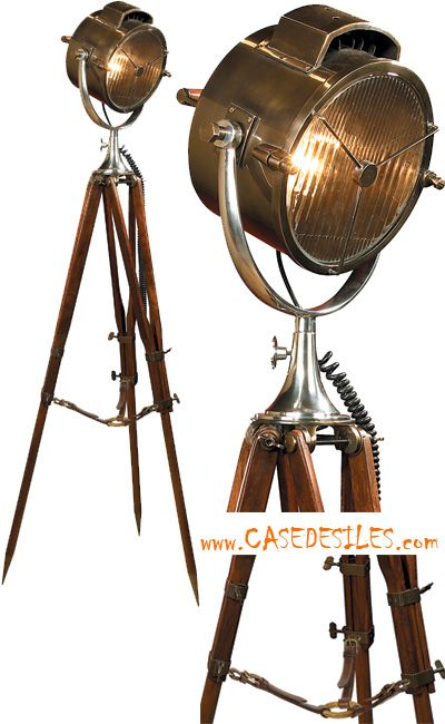 les 25 meilleures id es de la cat gorie lampe projecteur sur pinterest lampadaire en bois avec. Black Bedroom Furniture Sets. Home Design Ideas