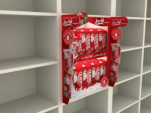Olpers POSM & Store Branidng on Behance