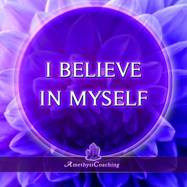 Today's Affirmation: I Believe In Myself <3 #affirmation #coaching