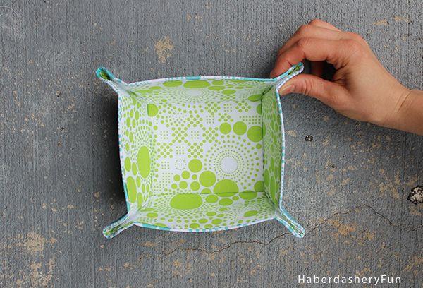 fabric bowl pattern instructions