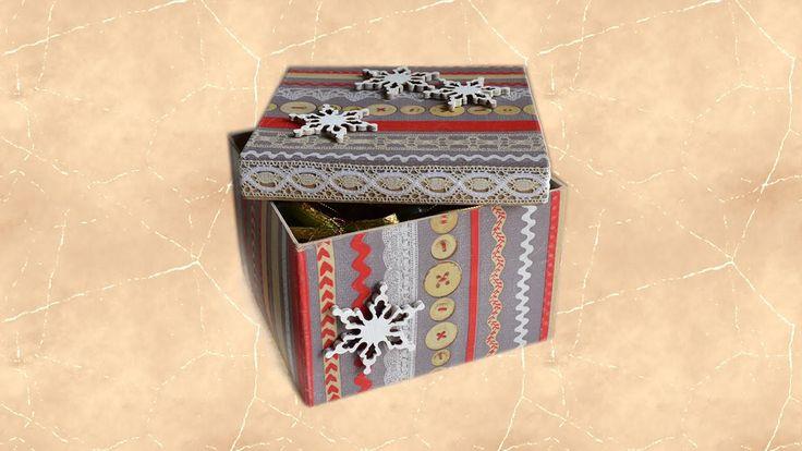 Как сделать подарочную упаковку новогодних игрушек