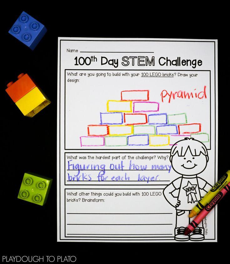 Stem Tastic 100th Day Of School: 9 Best STEM Exploration Station Images On Pinterest