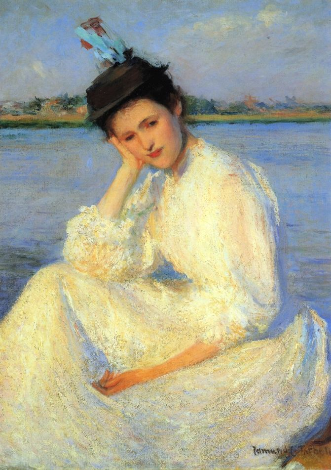 Portrait of a Lady by Edmund Tarbell