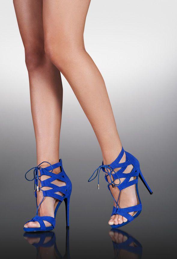 Electric Blue High Heel Sandals fashion blue shoes high heels stilettos sandals
