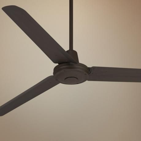 "60"" Casa Vieja Turbina Oil-Rubbed Bronze Ceiling Fan - #U4514 | LampsPlus.com"