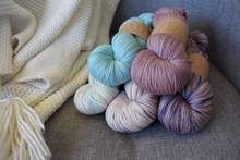 Pretty yarn is pretty. Available at knitcraftandknittery.com.