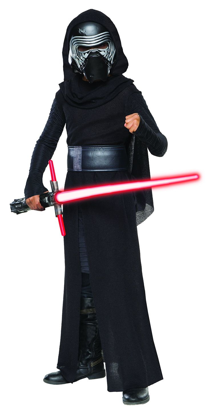 Boys Kylo Ren Costume One of the hottest dress ups this Halloween will be the boys Kylo Ren costume, which is immensely popular after the best Star Wars movie yet! All little boys will want to be h...