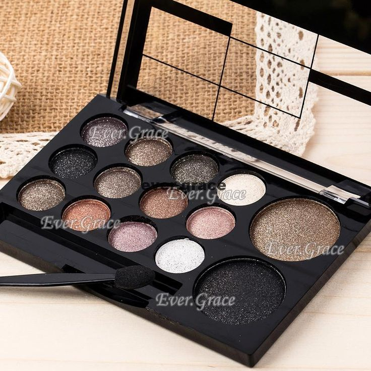 Neutral Nude 14 Colors Makeup Eye Shadow Shimmer Warm Eyeshadow Smoky Silky Kit