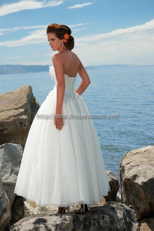181 best Ball gown wedding dresses images on Pinterest | Short ...