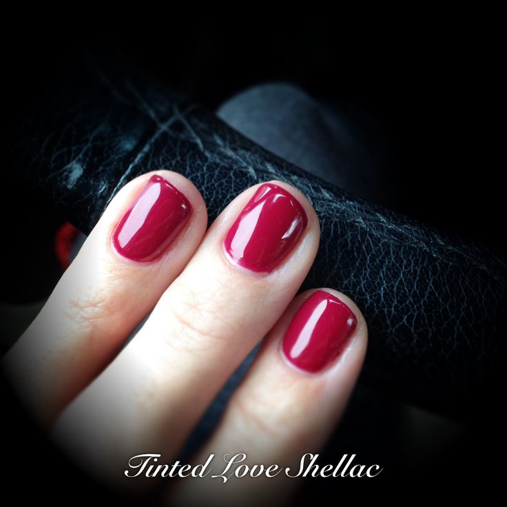 New CND shellac Tinted Love | Nails | Pinterest