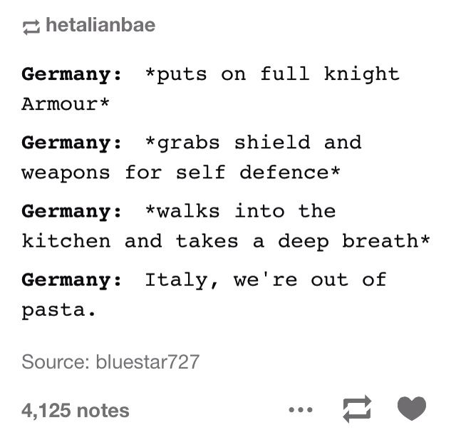 *Cue the screaming and frantic movements and unintentional(?maybe) bodily harm on germany*