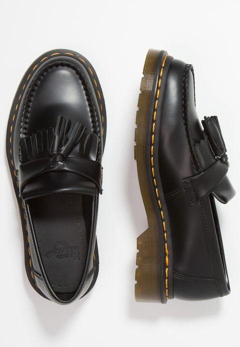 e5680615760 Dr. Martens ADRIAN - Mocassins - black smooth - ZALANDO.BE Service Client