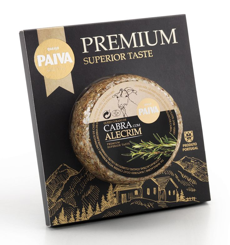 Paiva Premium Cheese on Packaging of the World - Creative Package Design Gallery