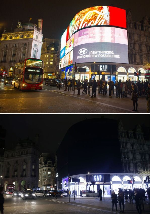 Iconic landmarks around the world turn out the lights for Earth Hour 2016