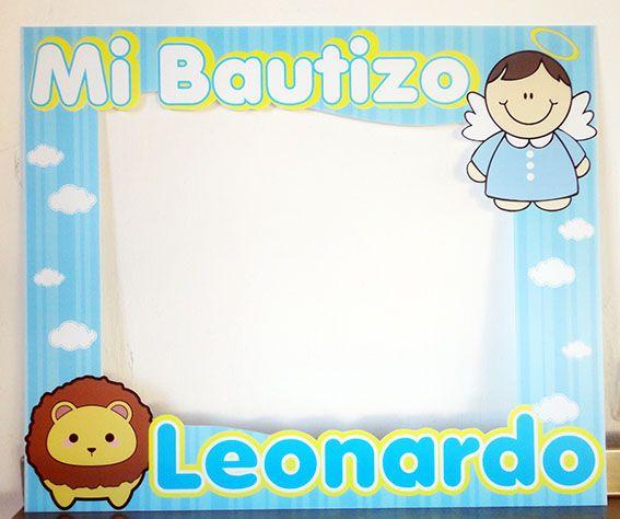 Marcos para fiestas Bautizo