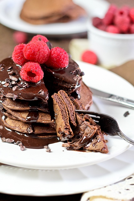 chocolate pancakes.