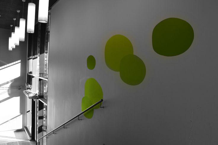Väriläiskiä syksyyn! :-) #green #spot