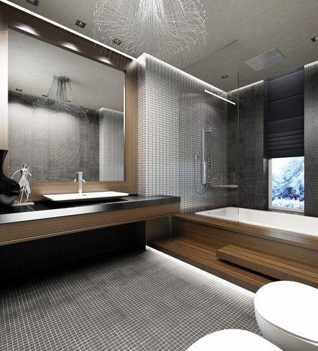 Des idées de salle de bain moderne et minimaliste