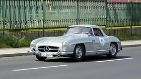 Mercedes-Benz 300 SL Roadster 1958 Royalty Free Stock Images  Large-format photo to download from Dreamstime.