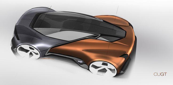Concept Car Design Art
