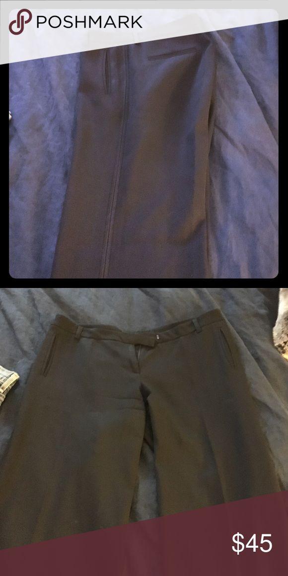 French Connection Black Tuxedo Pants Black French Connection wool tuxedo pants French Connection Pants Trousers
