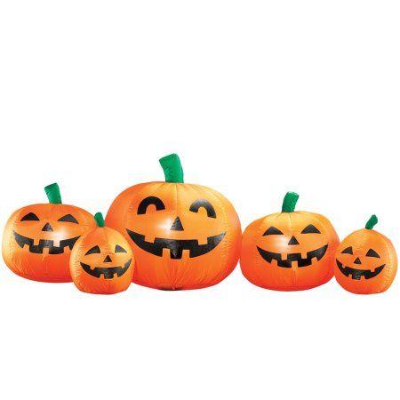 Inflatable Halloween Pumpkin Patch.