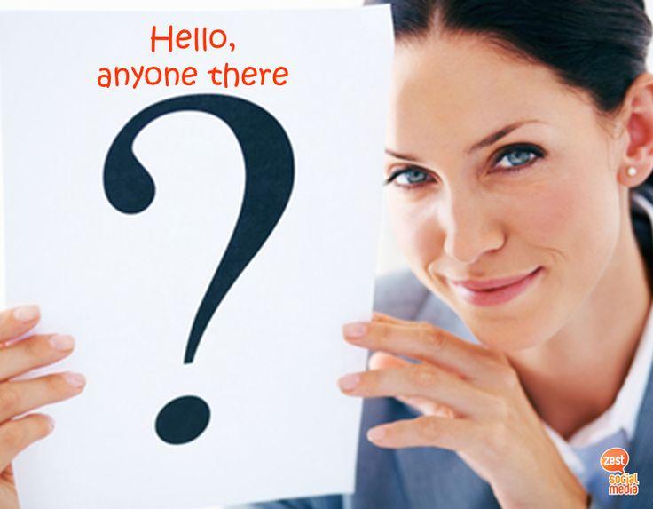 "Hello, είναι κανείς εκεί?""... 82% των καταναλωτών επικοινωνούν μέσα από το Facebook με τις επιχειρήσεις όταν έχουν κάποια απορία ή πρόβλημα. Φρόντισε να απαντάς σε όλες τις ερωτήσεις και τα σχόλια. Πλέον η σελίδα σου είναι και το customer service σου!  #customerservice #doitright #socialmediamarketing"