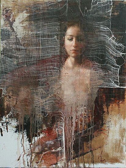 Divided by Mara Light Oil ~ 24 x 18
