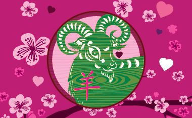 The Year of the Sheep is here! Read free Love Horoscopes for your Chinese sign here