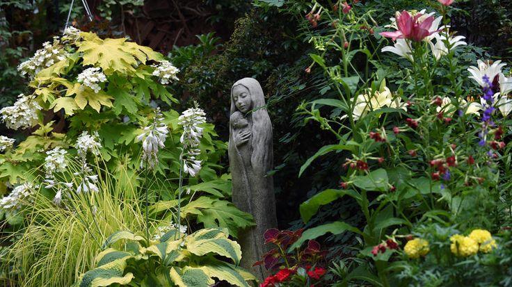 Nancy Bellaire's garden in Baltimore.