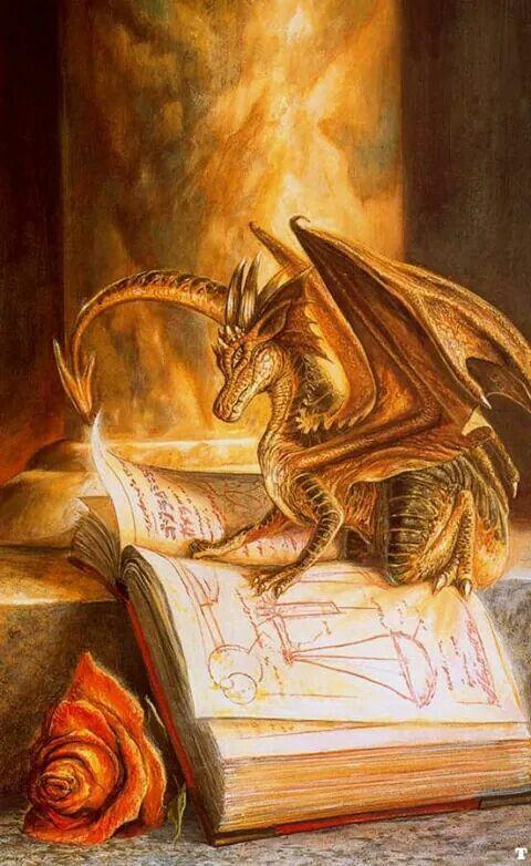 Dragon Studying; Dragons and Books