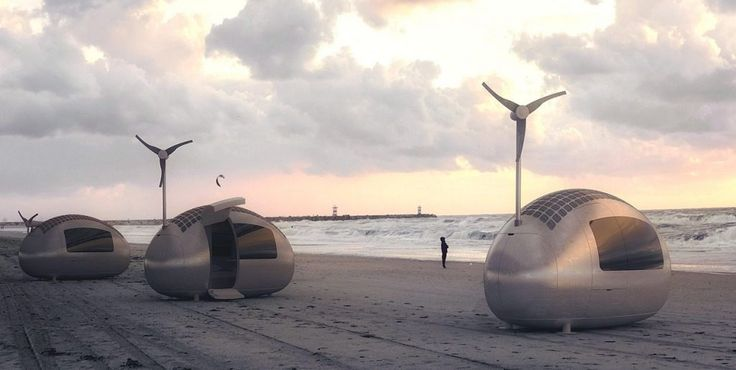 This Wind and Solar-Powered Portable Tiny Dwelling Promises the Ultimate Getaway - Micro Living - Curbed National