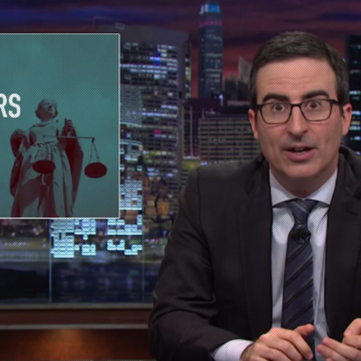 John Oliver's updated Miranda Rights for the poor make no sense at all, which is what makes them so frighteningly accurate.