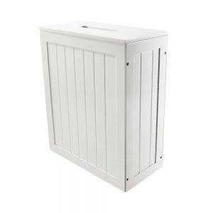 Slimline Bathroom Cabinets White