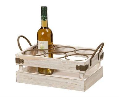 """Truhlica na víno """"Rivera"""", 23 x 42 x 20 cm"""