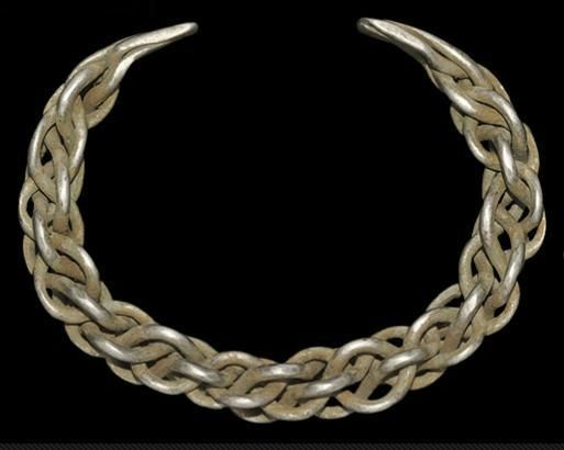 Viking Silver Plaited Bracelet, 10th-12th Century