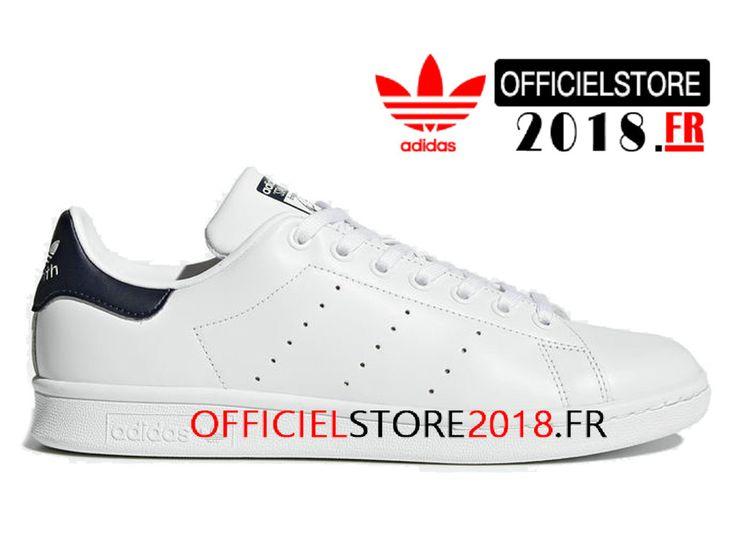 info for 1d2bc a3fab Adidas Homme Chaussure Originals Stan Smith Prix Pas Cher Blanc Bleu M20325 Adidas  Basket-M20325-Adidas Superstar 2018  Chaussures de Prix France!