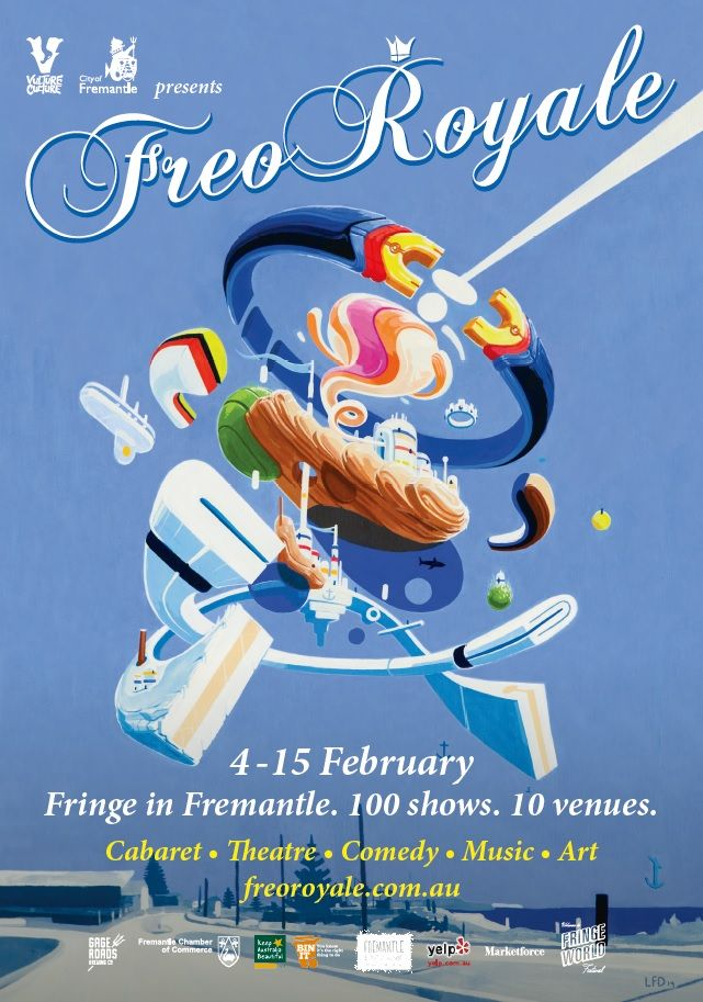 A lot is happening in Perth this summer and the lovely port hub of Fremantle is no exception with Fringe World being brought to the town showcasing amazing shows and performances in Freo!     Want to win a double pass to Freo Royale's opening night comedy show on Feb 4th? Share this post NOW :)    Check out the link below for further information on Freo Royale. http://freoroyale.com.au/