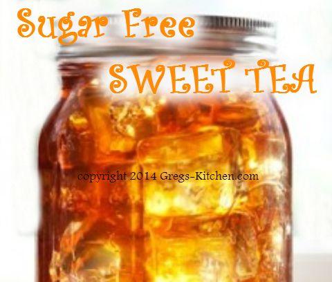 Southern Style Sweet Tea (Diabetic/Sugar Free)