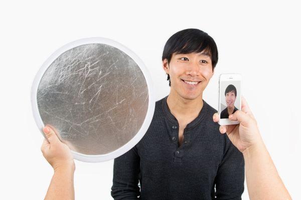The Pocket Reflector: A Go-Anywhere Light Bounce - The Photojojo Store!  $15