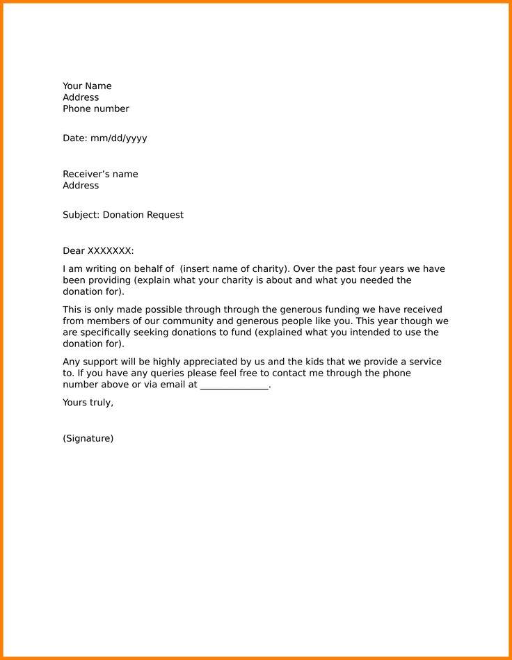 Solicitation Letter Sample Science Resume Samplelicitation