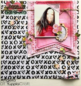 Ricordi Indimenticabili Scrapbook Layout Angela Tombari per YupplaCraft DT