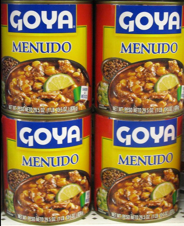 Mexican Soup made with Tripe (cows stomach)