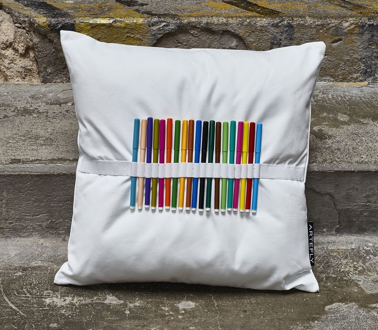 DY Markers Pillow