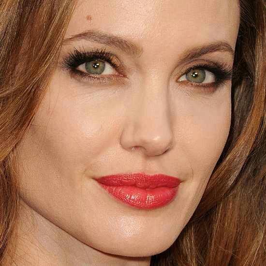Angelina jolie brown hair green/blue/grey eye color makeup warm tones | Beautyphyle | Pinterest ...