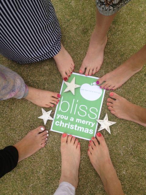 'tis the season to enjoy some time together - preferably outside & barefoot! Merry Blissmas from team endota gymea