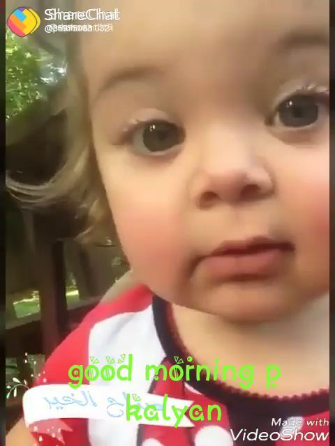 d6c21cf3ee67 Good Morning Cuttest Baby Video Status Ever